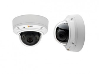 Die Axis-Mini-Dome-Kameras M3024-LVE und M3025-VE (Bild: Axis).