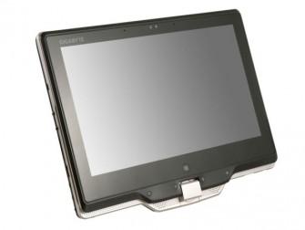 Das Convertible U2141 von Gigabyte im Tablet-Modus (Bild: Gigabyte).