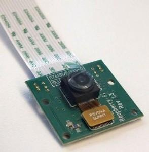 Das nun erhältliche Kamera-Modul für den Raspberry Pi (Bild: ZDNet.com)