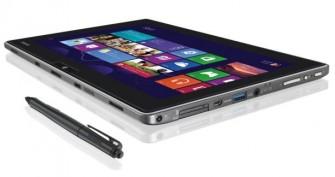 Für sein Tablet WT310 will Toshiba ab dem zweiten Quartal 2013 Business-Nutzer gewinnen (Bild: Toshiba).