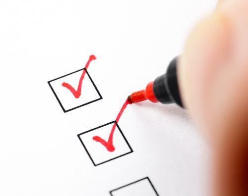 Checkliste (Bild: Shutterstock / Dmitry-Naumov)