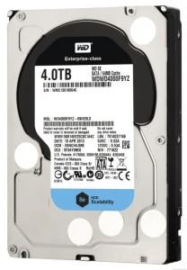 Enterpirse-Festplatte WD Se mit 4 TByte