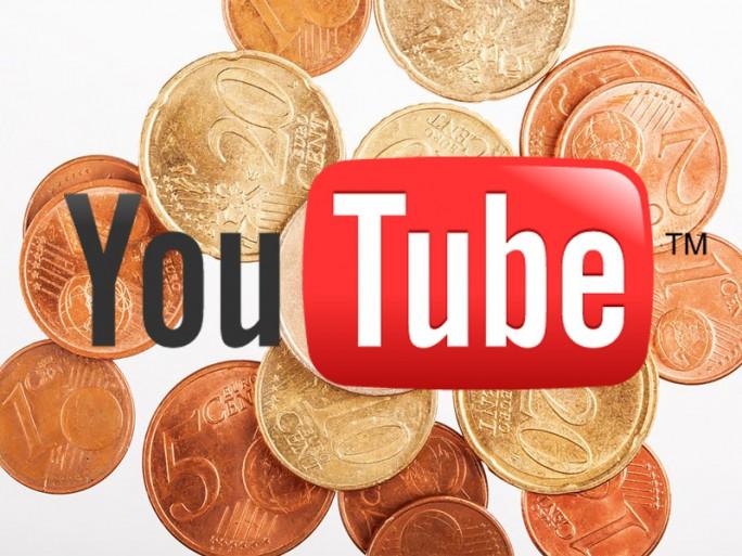 YouTube Geld (Bild: Shutterstock / jeka 84 und ITespresso.de)