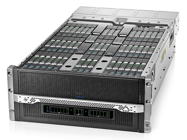 HPs Moonshot-Server werden jetzt auch mit dem Betriebssystem Cloud OS ausgeliefert (Foto: HP).