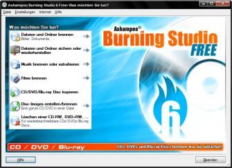 Burning Studio 6.86 Free