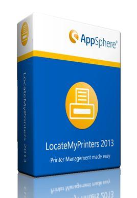 Appsphere Locate MyPrinters 2013 Packshot