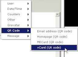 Erzeugen und Hinzufügen vn QR-Codes