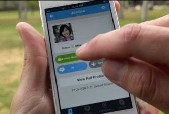 Zur Aufnahme einer Videonachricht kommt man über die Schaltfläche Video Message (Screenshot: ITespresso).