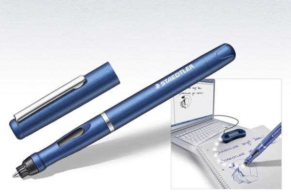 Der Digitalstift 990 von Staedtler wird ebenfalls mit einer Texterkennung kombiniert.