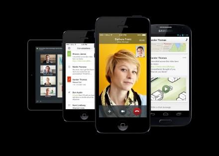"""Egal, ob Tablet oder Smartphone, Android, iOS oder Blackberry, """"Project Ansible"""" wird auf allen Mobil-Plattformen lauffähig sein (Bild: Siemens Enterprise Communications)."""