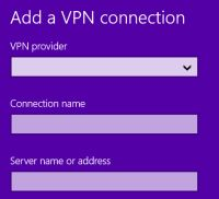 Windows 8.1 VPN einbinden