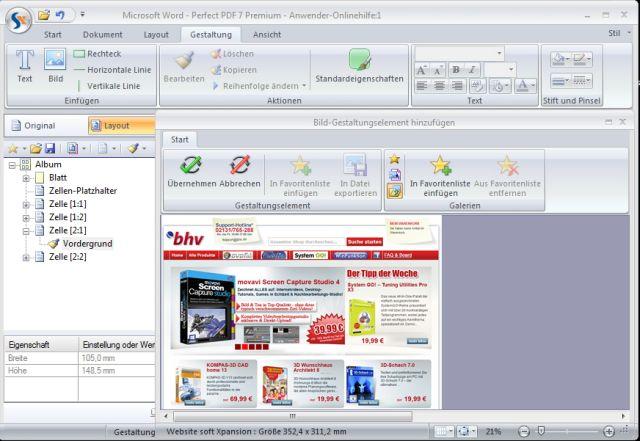 bhv PDF-Konvertierer Pro4