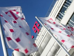 Deutsche Telekom Flaggen (Bild: DTAG)