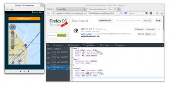 Der Firefox-OS-Simulator erlaubt Entwickler Anwendungen ohne physisches Endgerät auf dem Desktop zu testen (Bild: Mozilla).