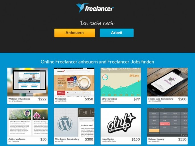 freelancer portal deutschland