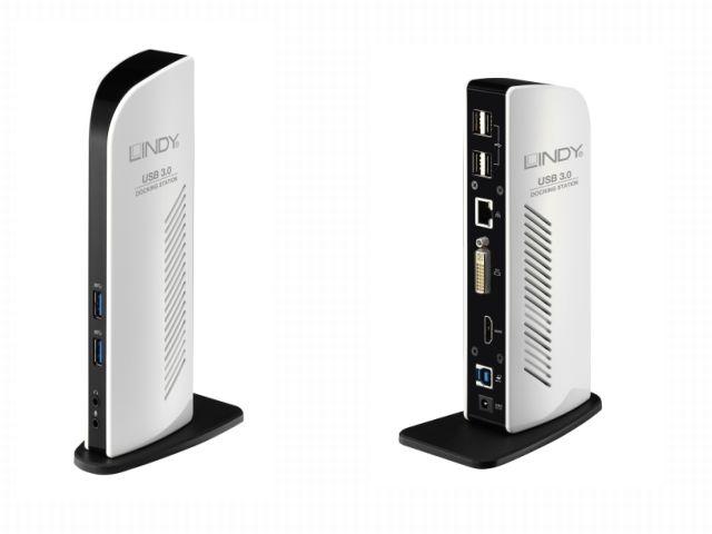 Lindy USB 3.0 Docking Station