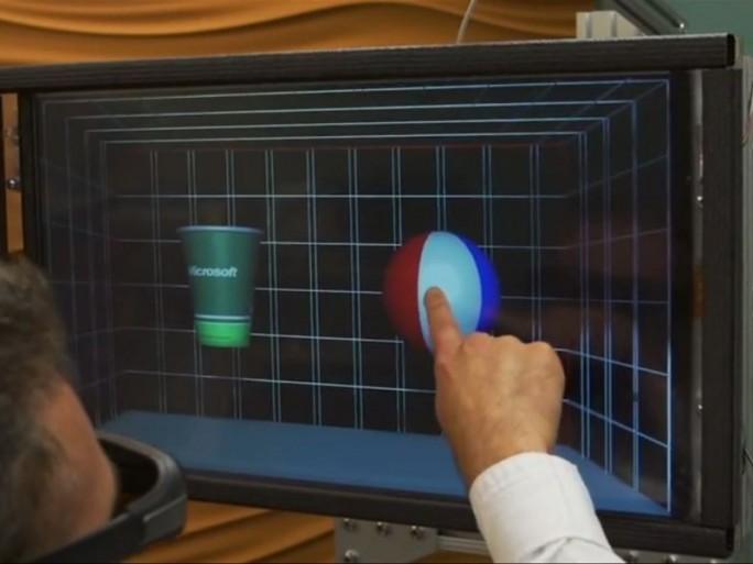 Microsoft 3D Touchscreen-Feedback