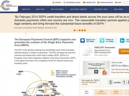 Der European Payments Council (EPC) koordiniert die Umstellung des Zahlungsverkehrs in Europa.