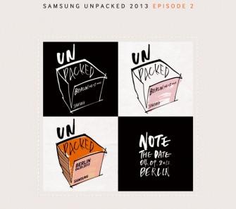 Einladung Samsung Galaxy Note 3