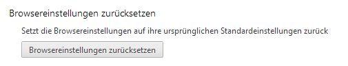 Resetbutton inn Chrome29