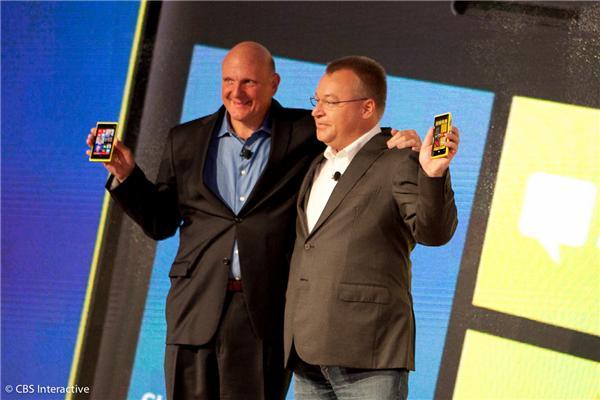 Ballmer und- Elop-mit Lumia-920