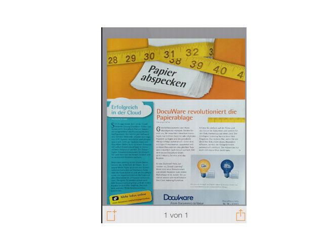Docuware Paperscan-App