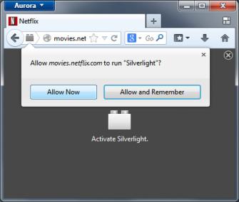 Firefox fragt künftig, ob Nutzer ein Plug-in ausführen möchte. Es lässt sich aber auch eine dauerhafte Genehmigung erteilen (Bild: Mozilla).