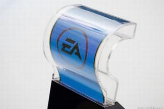 Biegsames Display von Samsung in einem Plastikgehäuse (Bild: News.com)