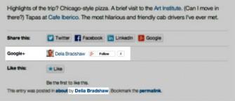Google-plus-in-Wordpress