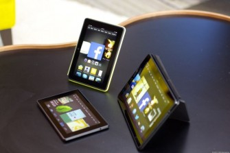 Die kommenden Kindle-Fire-Tablets von Amazon (Bild: David Carnoy/CNET)