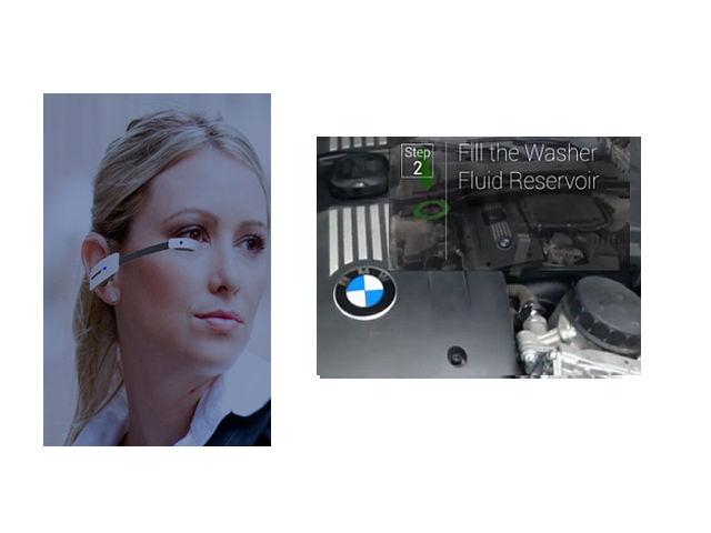 Metaio Google-Glass-BMW-Handbuch