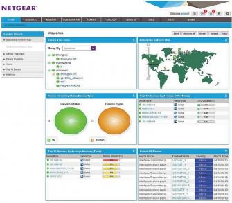 Netgear bietet die Administrationssoftware NMS300 Firmen mit weniger als 200 Geräten zur kostenlosen Nutzung an (Screenshot: Netgear)