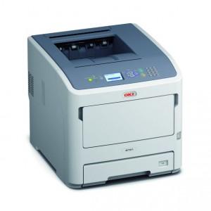 Der Oki B721dn erlaubt Duplex-Druck und ermöglicht den Einsatz von Tonerkassetten mit Kapazitäten von bis zu 36.000 Seiten (Bild: Oki).