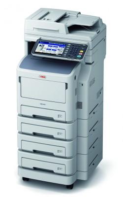 """Das MB760dnfax ist das """"kleinste"""" der vier neuen Monochrome-MFPs für Arbeitsgruppen von Oki (Bild: Oki)."""