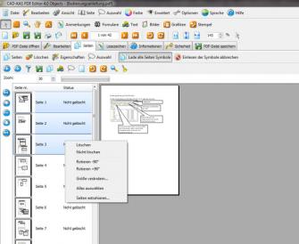 PDF-Editor 4 Screen