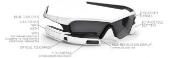 Die Computerbrille Reconjet (Bild: Recon Instruments).
