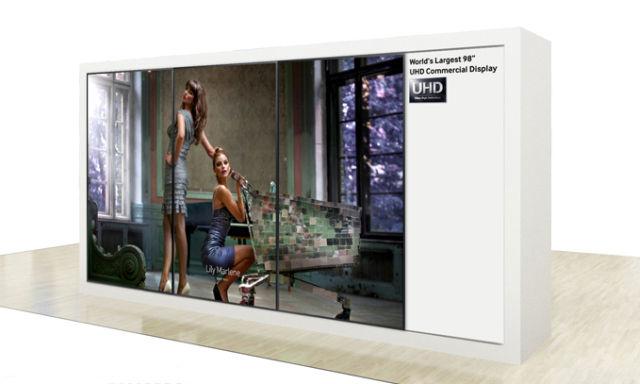 Samsung UHD-Screen