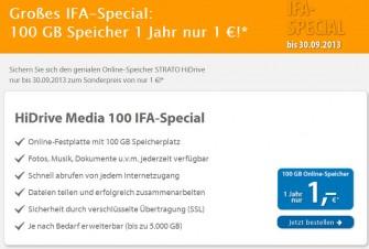 Strato-IFA-HiDrive-Aktion