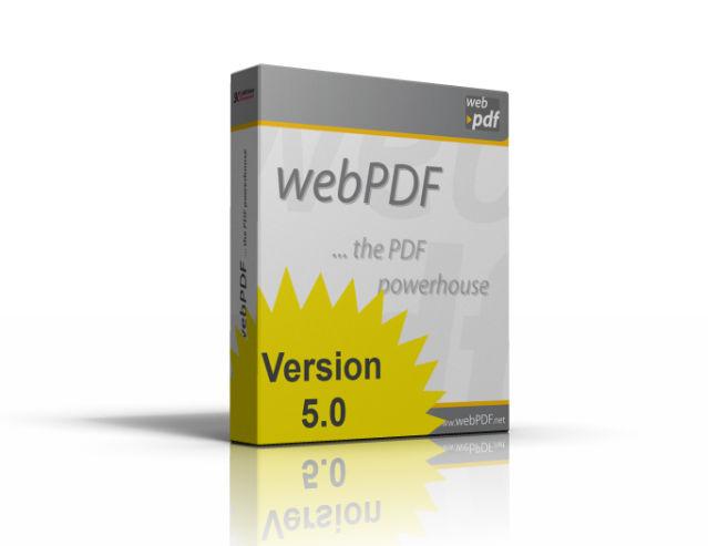 webPDF 5.0