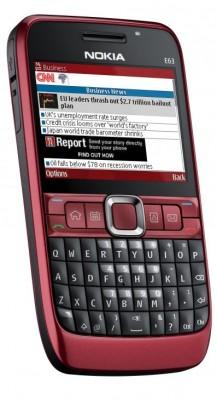 Top-Smartphone anno 2009: Das Nokia E63 mit Tastatur. (Bild: Nokia)