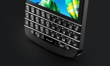 Für Tipp-Fans: Das neue Blackberry Q10 verfügt über eine verbesserte Tastatur (Foto: Blackberry).