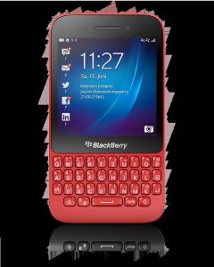 Das Q5 ist vor allem für Privatleute, weniger für Geschäftsleute gedacht (Foto: Blackberry).