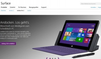 Microsofts neue Version des Surface-Tablets