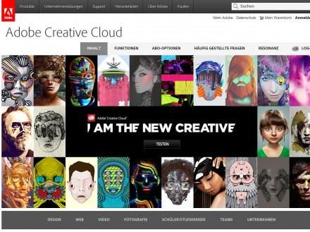 Adobe bietet künftige Versionen seiner Creative-Suite nur als Cloud-Version an. Die einzelnen Programme lassen sich aber auch zusätzlich auf dem Desktop installieren.