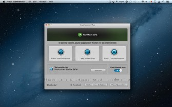 Bitdefender for Mac Screen