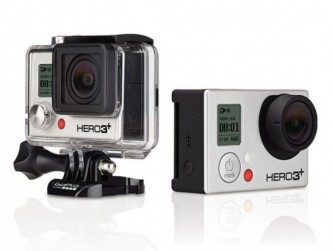 Die Action-Cams GoPro Hero3+ Black & Silver Edition (Bild: GoPro).