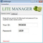 Litemanager-Quicksuport-Login