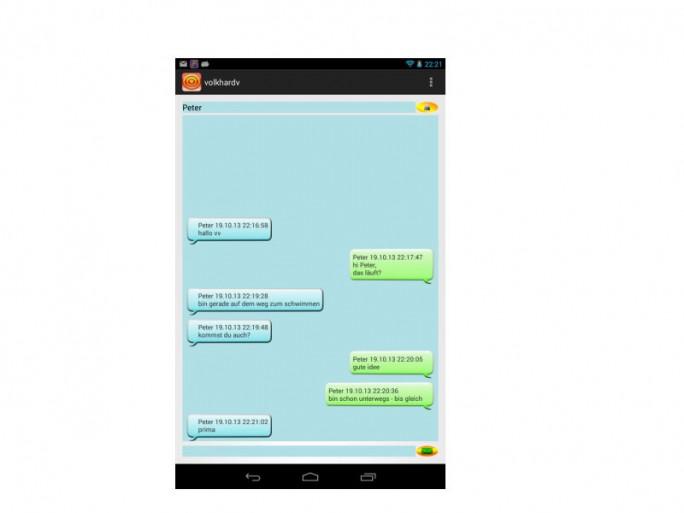 Chatmode-Kommunikation