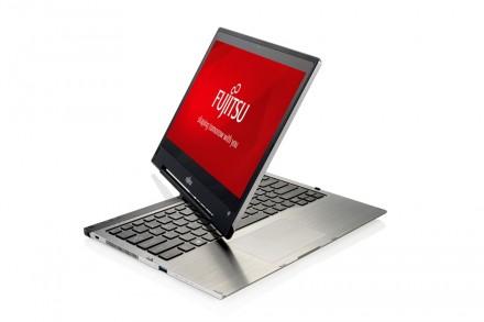 Das auf dem Fujitsu Forum vorgestellte Lifebook T904 ist nur 17 Millimeter dick und ist als highendiges Convertible für Manager konzipiert (Foto: Fujitsu).