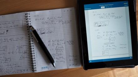 Handschriftliche Notizen und Zeichnungen werden in Livescribe sehr präzise digitalisiert.